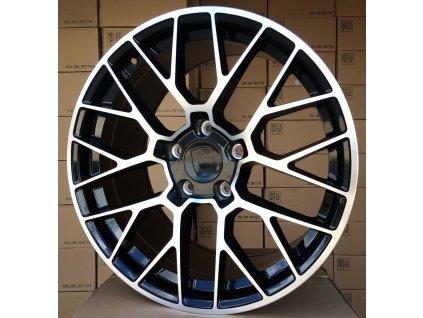 Alu kola design Porsche 20x9.5 5x130 ET55 71.6 černé