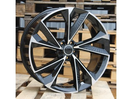 Alu kola design Audi 19x8.5 5x112 ET30 66.45 černé