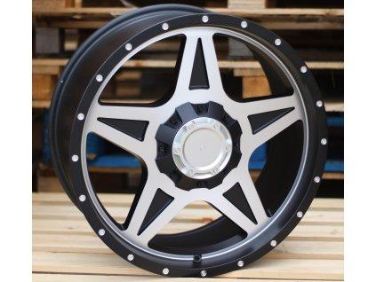 Alu kola design Offroad 20x9 6x139.7 ET18 110 černé