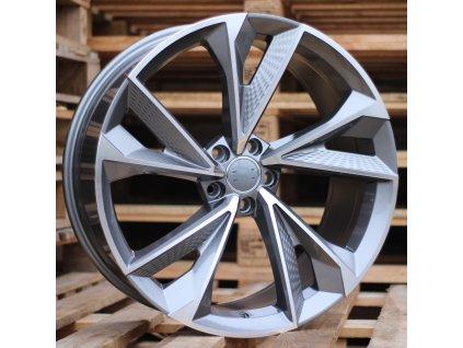 Alu kola design Audi 19x8.5 5x112 ET40 66.45 šedé