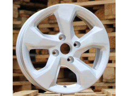 Alu kola design Chevrolet 16x6 4x114.3 ET40 56.6 stříbrné
