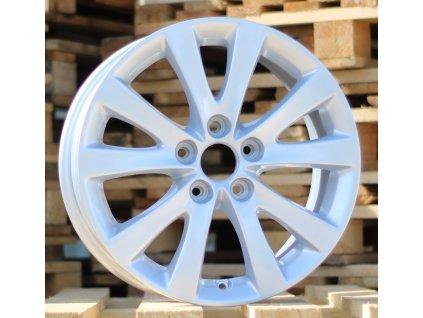 Alu kola design Citroen 16x7 5x108 ET52 65.1 stříbrné