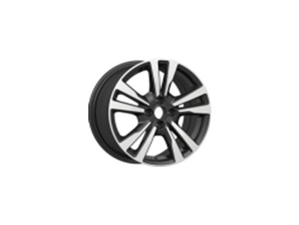 Alu kola design Nissan 16x6.5 4x100 ET45 60.1 černé