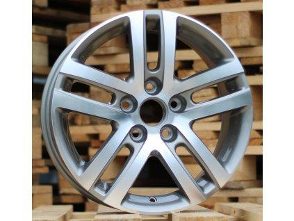 Alu kola design Volkswagen 16x6.5 5x112 ET50 57.1 šedé