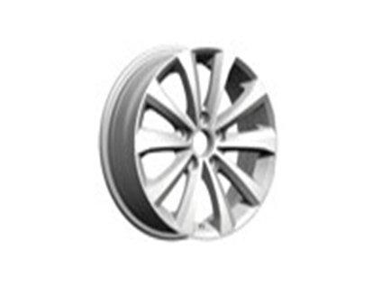 Alu kola design Volkswagen 16x7 5x112 ET45 57.1 stříbrné