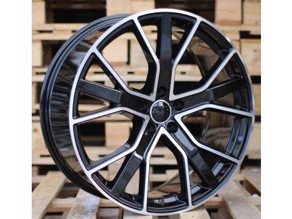 Alu kola design Audi 21x9 5x112 ET33 66.4 černé