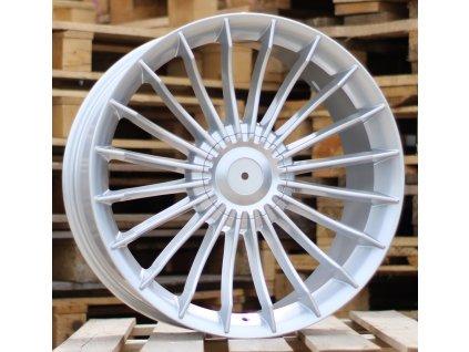 Alu kola replika Alpina 21x8.5 10x112/120 ET25 72.5 stříbrné