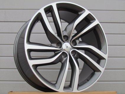 Alu kola design  20x8.5 5x108 ET40 63.4 šedé