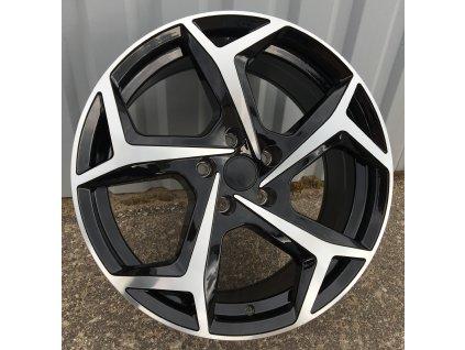 Alu kola design Volkswagen 17x7.5 5x100 ET45 57.1 černé