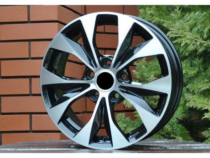 Alu kola design Honda 17x7 5x114.3 ET50 64.1 černé