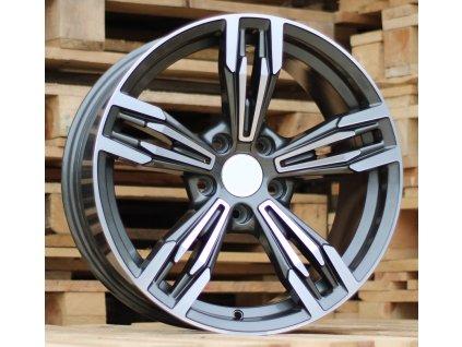 Alu kola design BMW 18x8 5x120 ET35 72.56 šedé