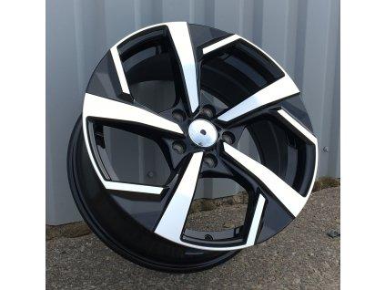 Alu kola design Nissan 17x7.5 5x114.3 ET40 66.1 černé