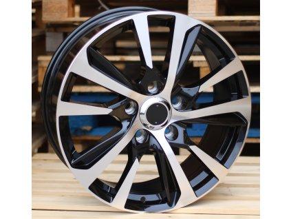 Alu kola design Lexus 21x8.5 5x150 ET54 110.1 černé