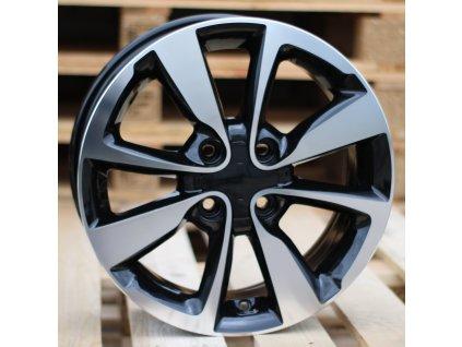 Alu kola design Hyundai 16x6 4x100 ET50 54.1 černé