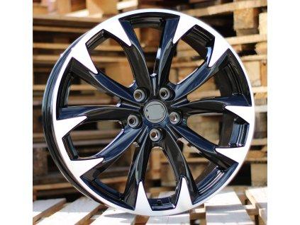 Alu kola design Mazda 19x7 5x114.3 ET50 67.1 černé