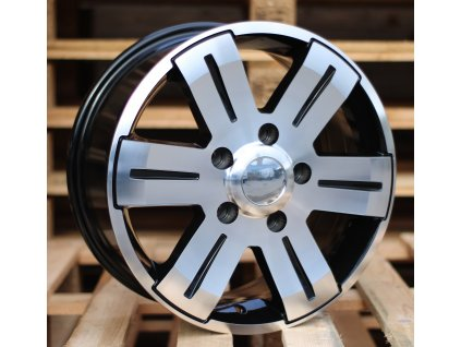 Alu kola design  16x7 5x130 ET55 89.1 černé