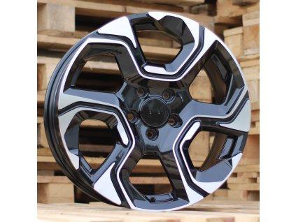 Alu kola design Honda 18x7 5x114.3 ET45 64.1 černé