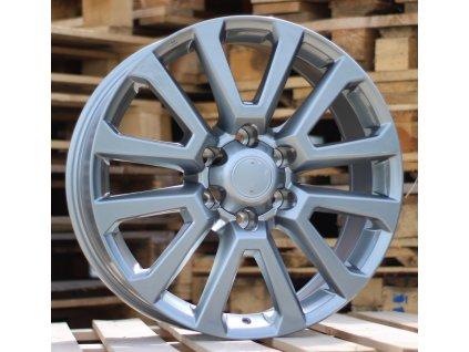 Alu kola design Toyota 20x8.5 6x139.7 ET25 106.1 šedé