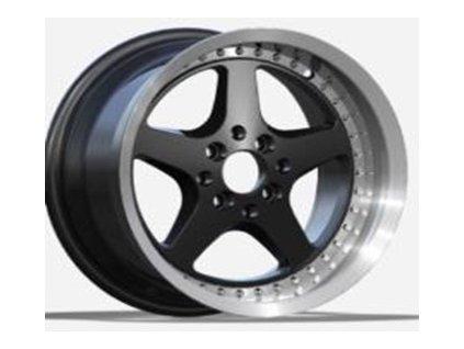 Alu kola design  16x8.5 8x100/114.3 ET25 73.1 černé