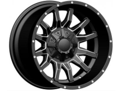 Alu kola design Offroad 18x9 12x135/139.7 ET0 110 černé