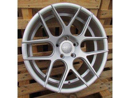 Alu kola Haxer 18x10 5x120 ET15 74.1 stříbrné