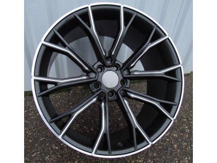 Alu kola design BMW 19x8.5 5x120 ET33 72.5 černé
