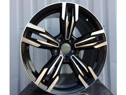 Alu kola design BMW 17x8 5x120 ET35 72.6 černé
