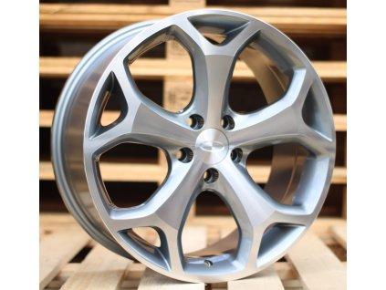 Alu kola design Ford 17x7.5 5x108 ET45 63.4 šedé