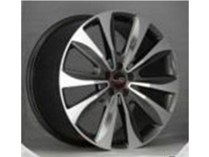 Alu kola design Mercedes 20x9 5x130 ET48 84.1 šedé