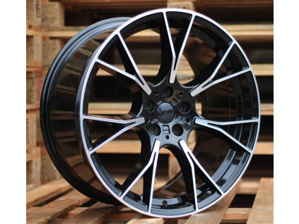 Alu kola design BMW 19x8.5 5x120 ET33 72.6 černé