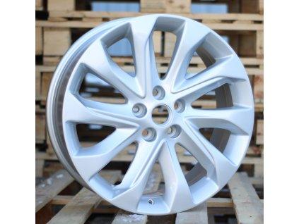 Alu kola design Opel 19x7.5 5x115 ET46 70.1 stříbrné