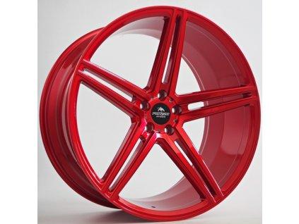 Alu kola Forzza Bosan 10,5x22 5x112 ET38 66,45 Candy Red