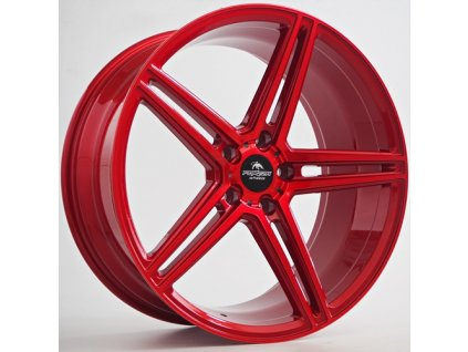 Alu kola Forzza Bosan 9x20 5x112 ET30 66,45 Candy Red