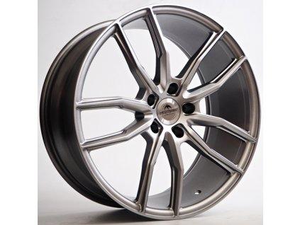 Alu kola Forzza Sigma 9x20 5x120 ET32 CB72,56 Light Grey