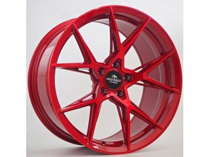 Alu kola Forzza Oregon 8,5x19 5x112 ET42 CB66,45 Candy Red