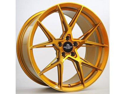 Alu kola Forzza Oregon 8,5x19 5x112 ET42 CB66,45 Golden Amber