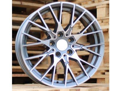 Alu kola design BMW 18x8 5x120 ET35 72.6 šedé