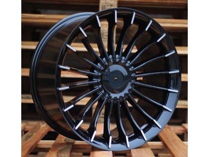 Alu kola replika Alpina 19x8.5 10x112/120 ET33 72.6 černé