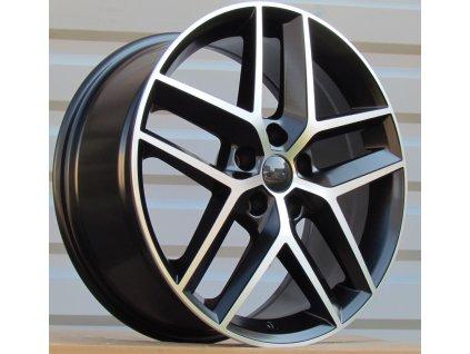 Alu kola design Seat 18x7.5 5x112 ET51 57.1 černé