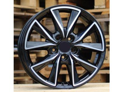 Alu kola design Kia 18x7.5 5x114.3 ET52.5 67.1 černé