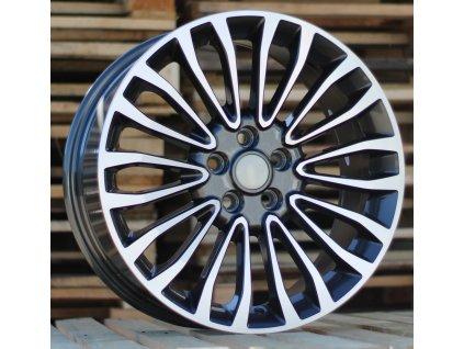 Alu kola design Ford 18x8 5x108 ET50 63.4 šedé