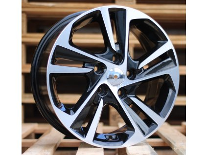 Alu kola design Hyundai 15x6 5x114.3 ET40 67.1 černé