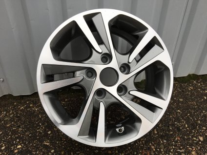 Alu kola design Hyundai 16x6.5 5x114.3 ET45 67.1 šedé