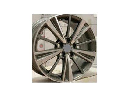 Alu kola design Toyota 15x6 4x100 ET35 54.1 šedé