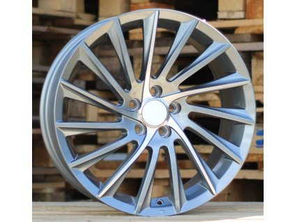 Alu kola design Alfa Romeo 16x7 5x98 ET35 58.1 šedé