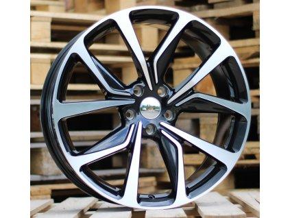 Alu kola design Opel 20x8.5 5x115 ET41 70.2 černé