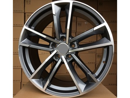Alu kola design Audi 19x8.5 5x112 ET33 66.45 šedé