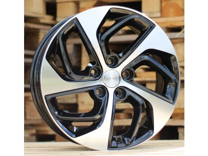 Alu kola design Hyundai 17x7 5x114.3 ET51 67.1 černé