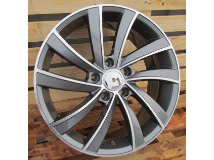 Alu kola design Škoda 17x7 5x112 ET40 57.1 šedé