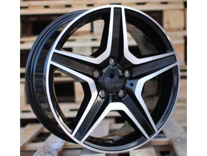 Alu kola design Mercedes 17x7.5 5x112 ET45 66.56 černé